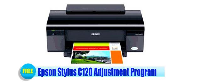 Epson Stylus C120 Adjustment Program