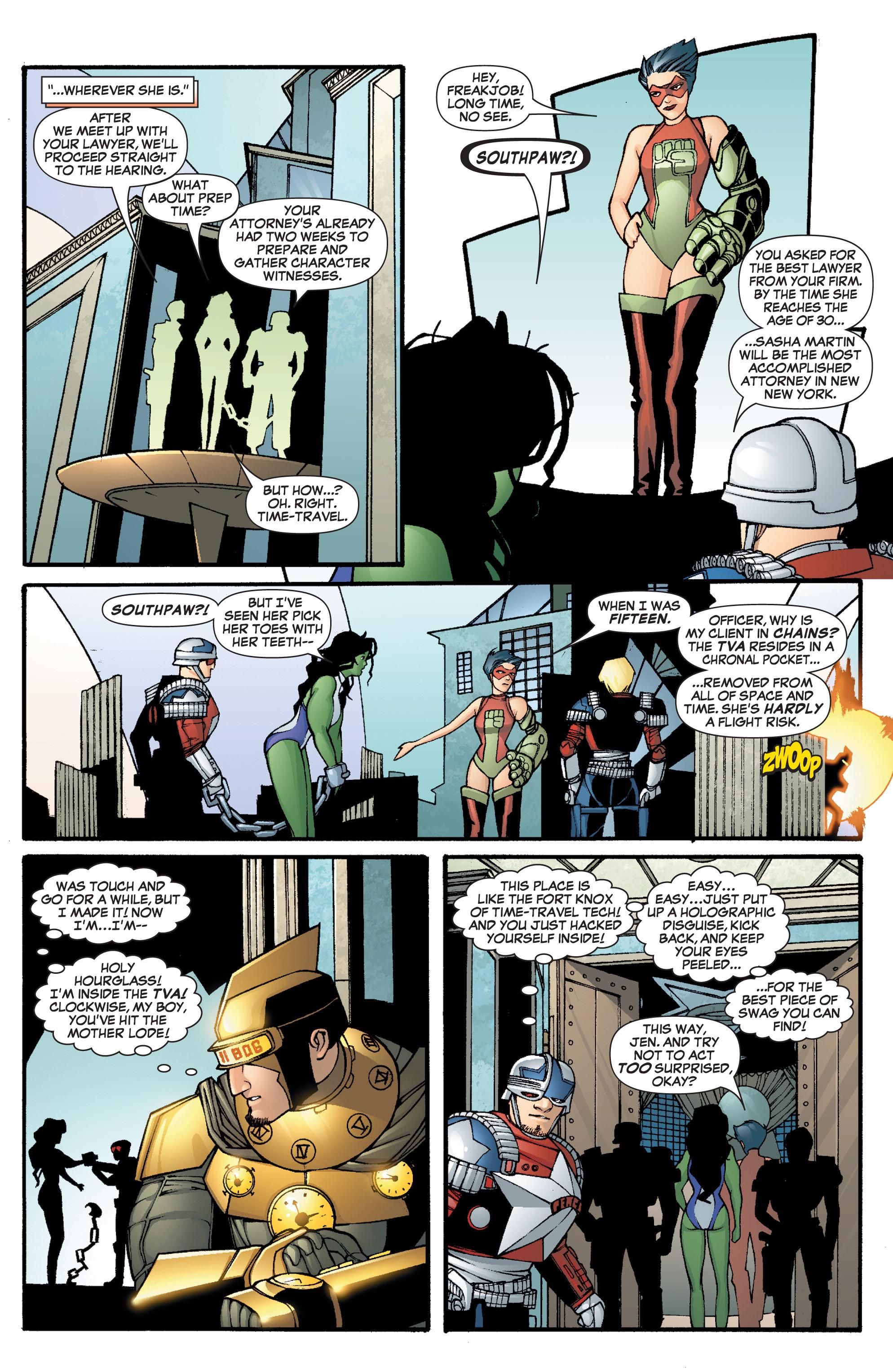 Read online She-Hulk (2005) comic -  Issue #3 - 8