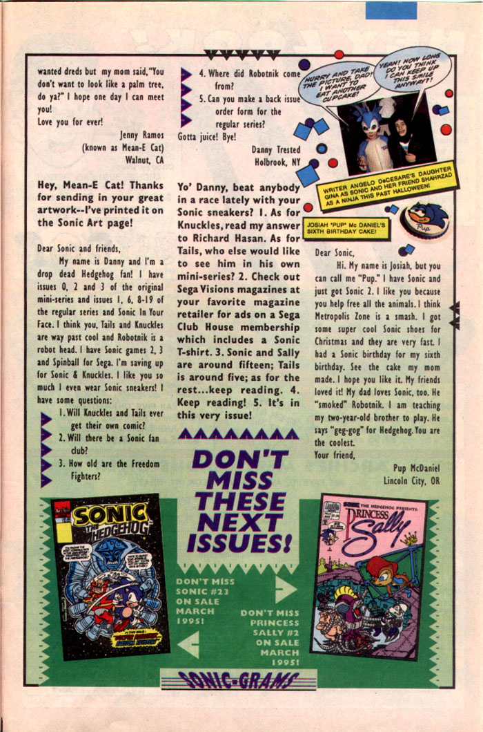 Read online Sonic The Hedgehog comic -  Issue #22 - 28