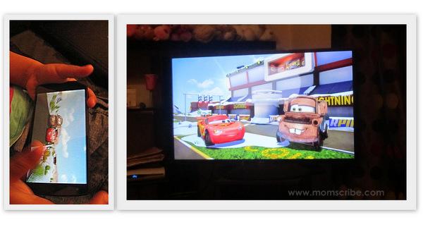 How to Cast Screen Nexus 5 to LG Smart TV - LG TV Miracast