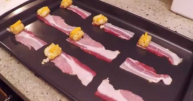 How to Make Bacon-Wrapped Tater Tots