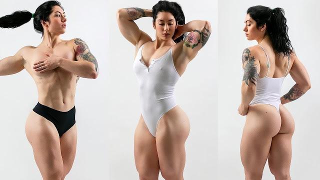 Natasha Aughey panties
