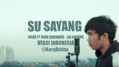 Download Lagu Mp3 Video Lirik Lagu Karna Su Sayang versi Indonesia - Kery Astina