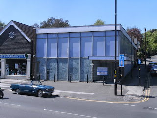 Site of the P J Evans Sutton Coldfield showroom