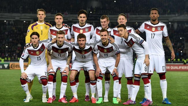 Information about Germany team 2018