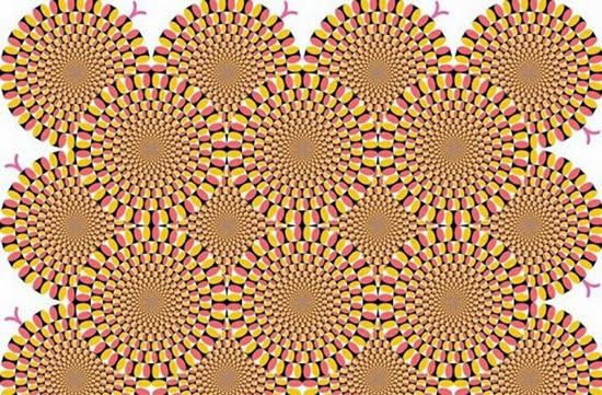 Ilusão de ótica - Engrenagens que se Movem