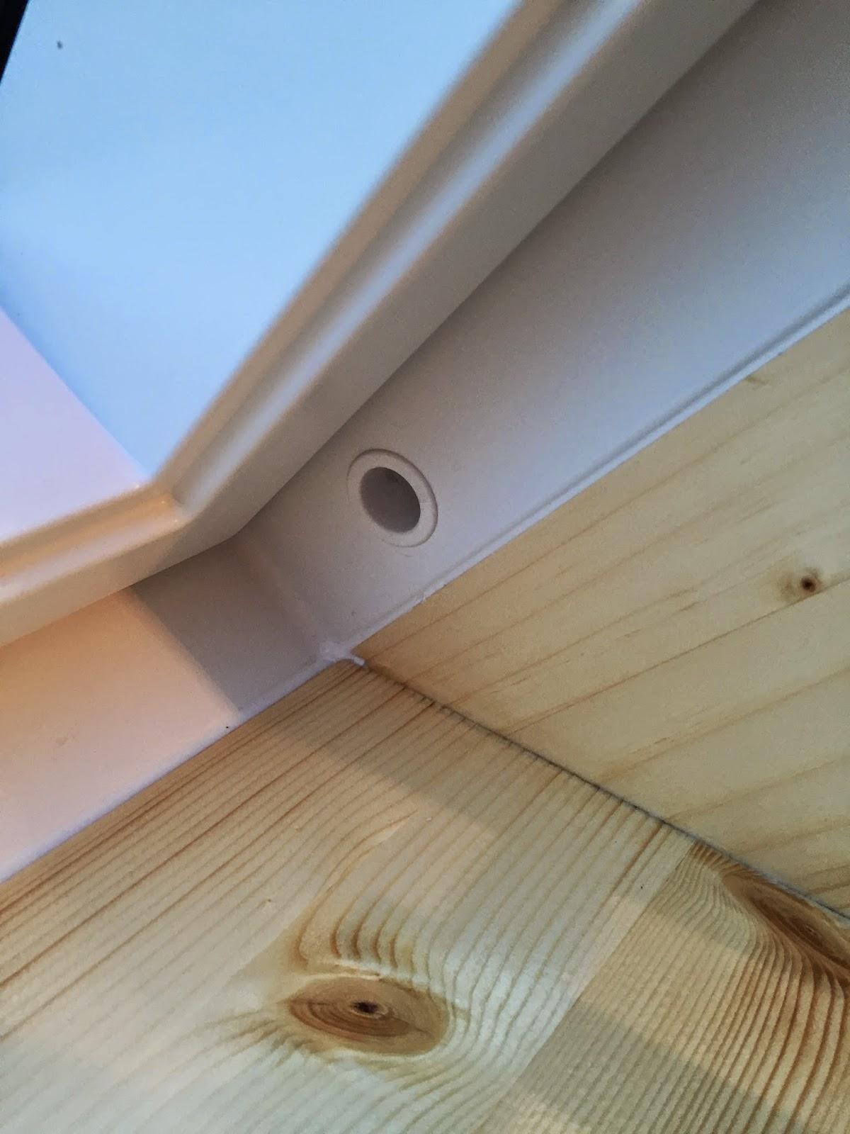 HolzwurmTom.de: Innenfutter für ein Dachfenster