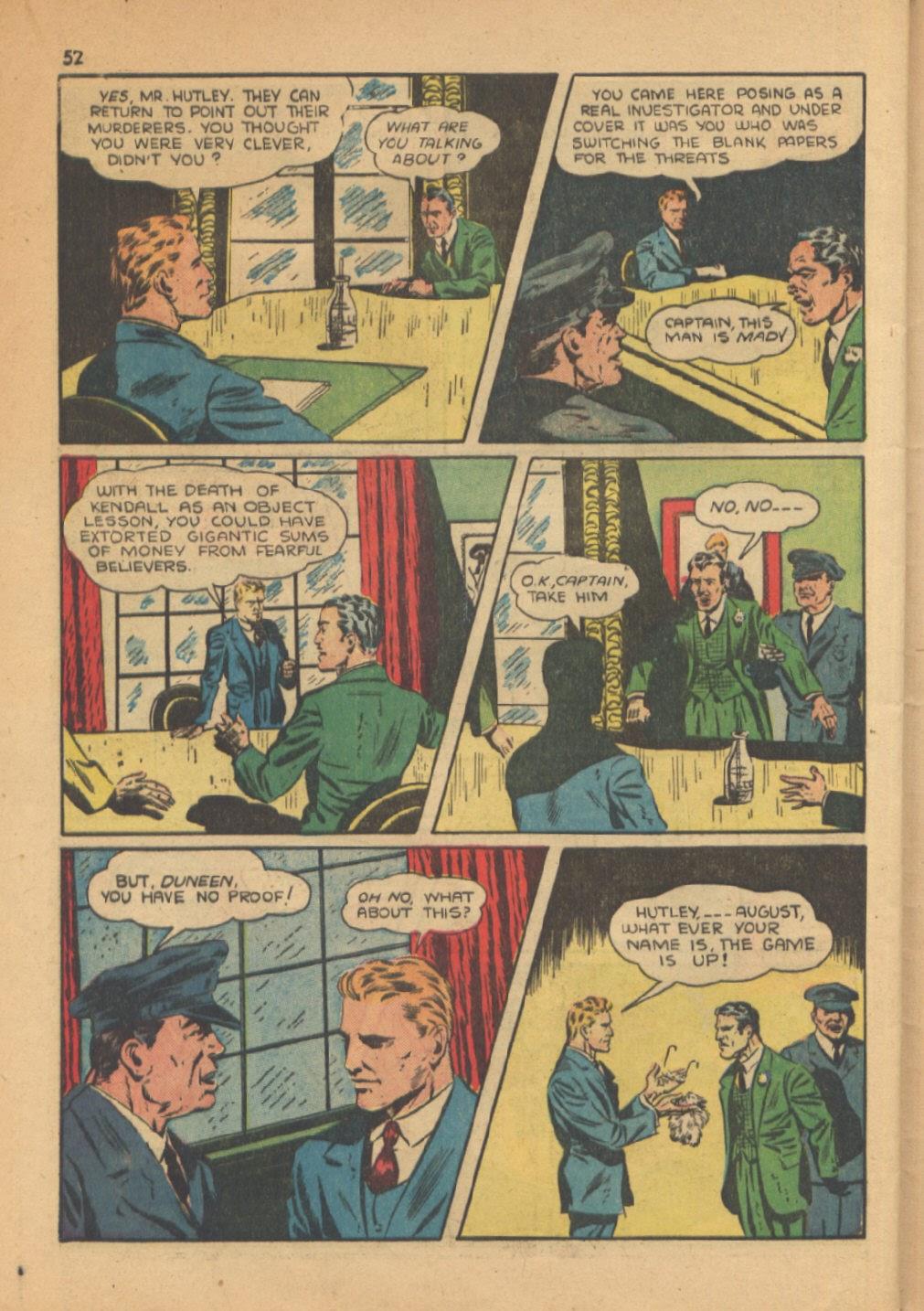 Read online Super-Magician Comics comic -  Issue #13 - 52