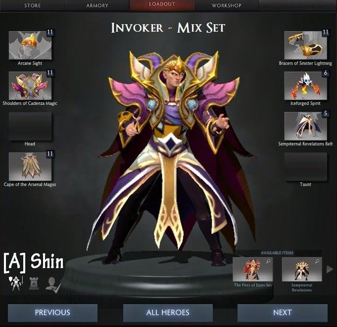 Invoker Mix Set