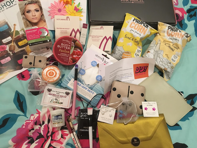 LPP Event Goodie bag contents