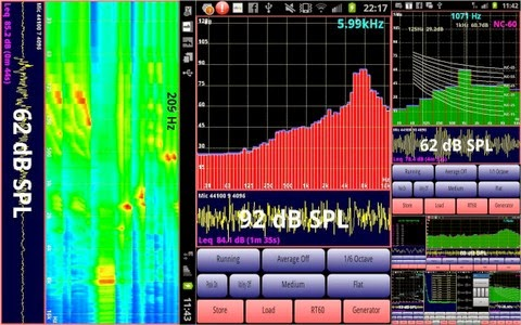 Audiotool Audio Engineers Android App that can analyze and make Frequency Sound