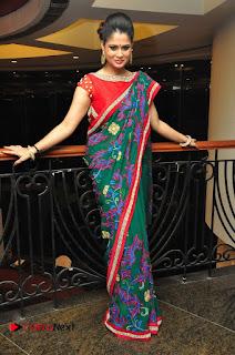 Shilpa Chakravarthy Pictures in Saree at Women Anthem Album Launch 0100