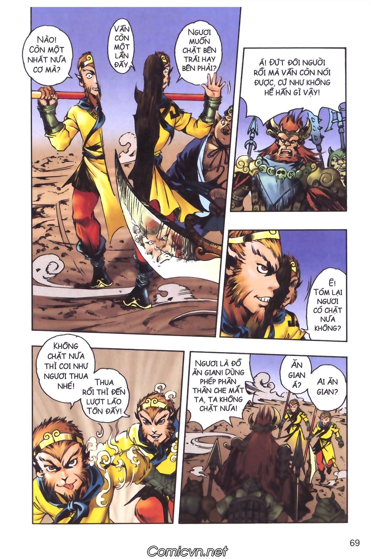 Tây Du Ký màu - Chapter 120 - Pic 29