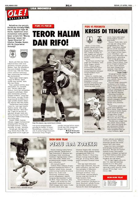 LIGA INDONESIA V PSMS MEDAN VS PERSIB BANDUNG