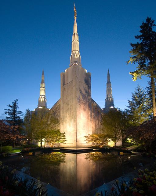Portland, Oregon LDS temple