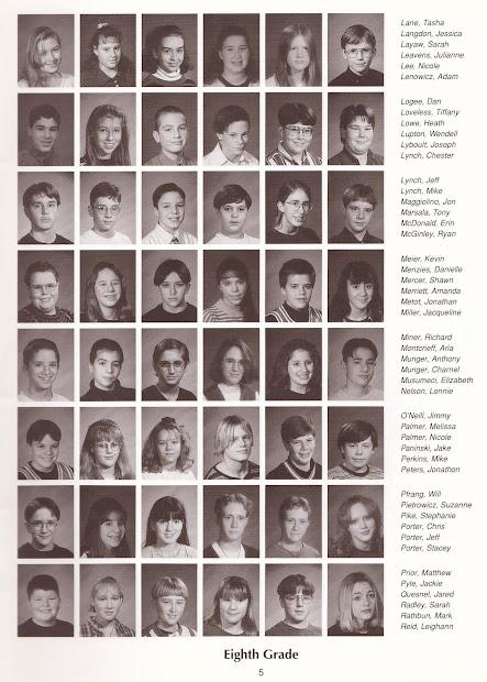 1995-96 Ejd Middle School Memory Book Phoenix