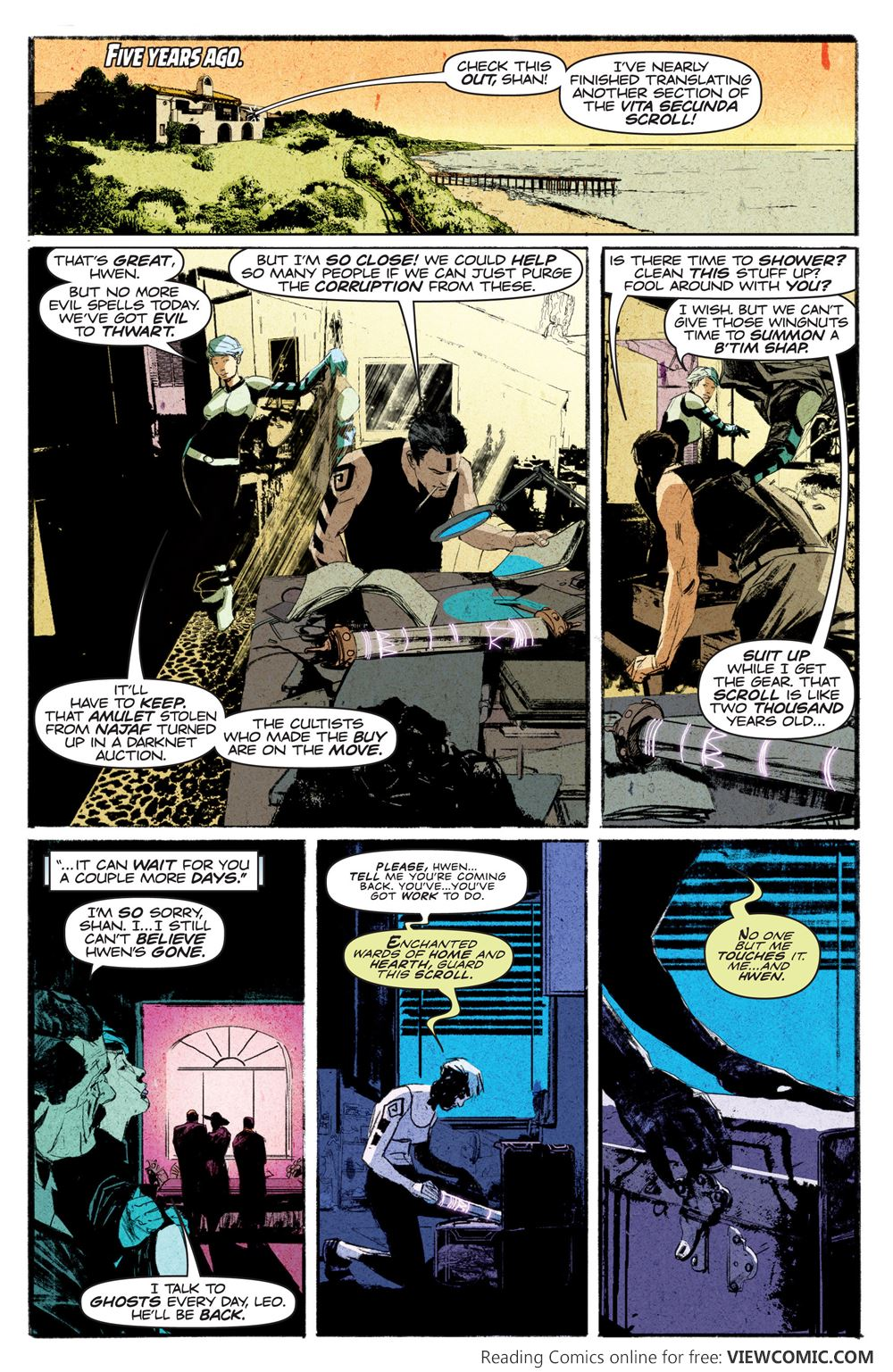 Death Defying Doctor Mirage TP Vol 01 from VALIANT ...