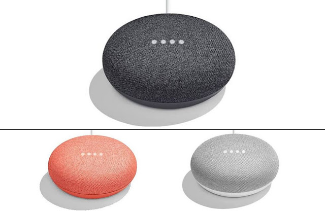 Google Home Mini Price $49, available three colors
