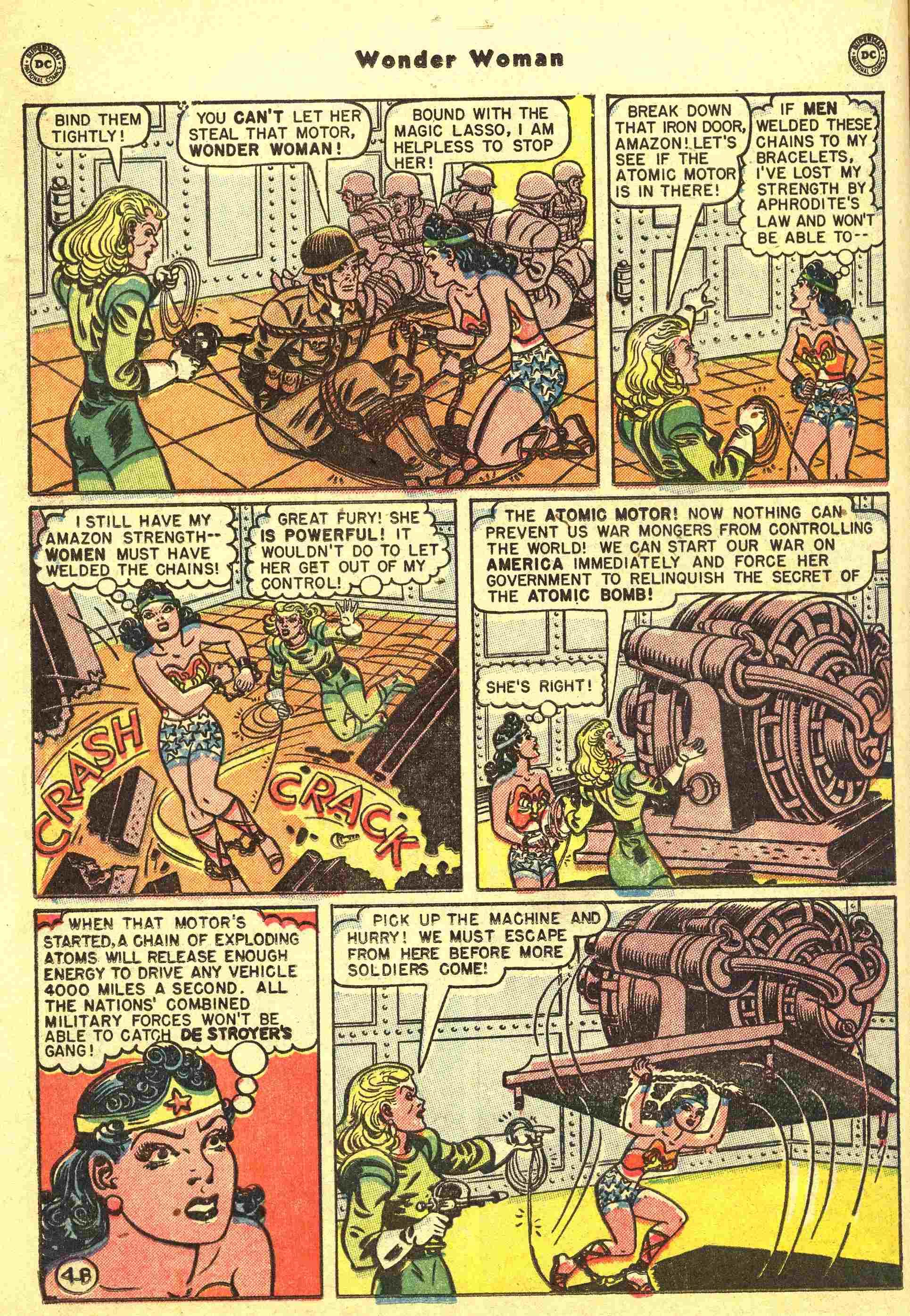Read online Wonder Woman (1942) comic -  Issue #44 - 17