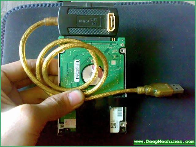 Penggunaan USB Converter pada Hardisk PATA
