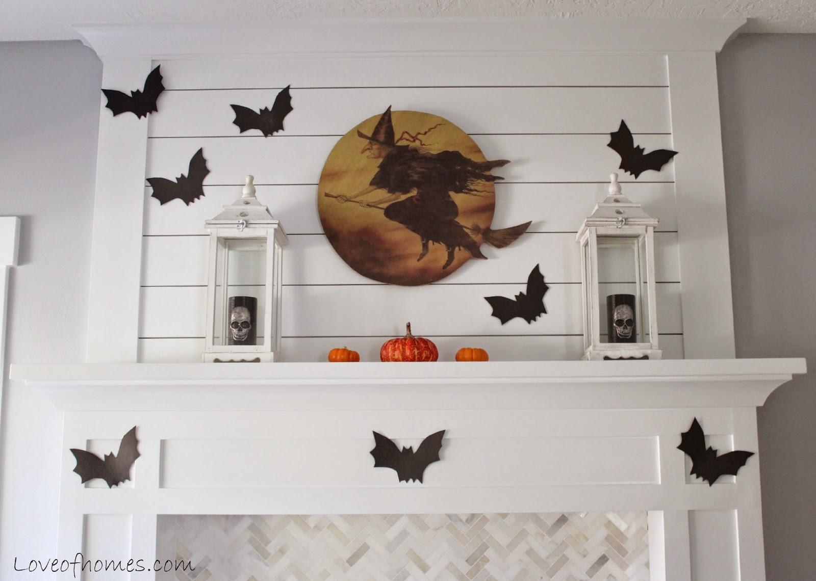 LOVE OF HOMES Halloween Decor 2014