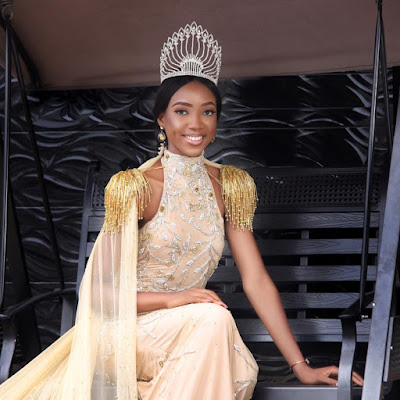 Please, Vote For Me To Win Miss World Crown –MBGN Begs (photo)