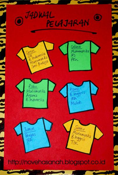 Contoh Gambar Jadwal Piket Kelas Yang Unik : contoh, gambar, jadwal, piket, kelas, Contoh, Jadwal, Pelajaran