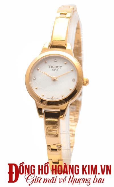 đồng hồ tissot nữ dây sắt hàng hiệu