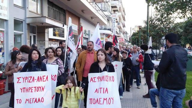 Συλλαλητήριο του ΠΑΜΕ τη Μ. Τρίτη στην Αλεξανδρούπολη ενάντια στο ασφαλιστικό και φορολογικό νομοσχέδιο