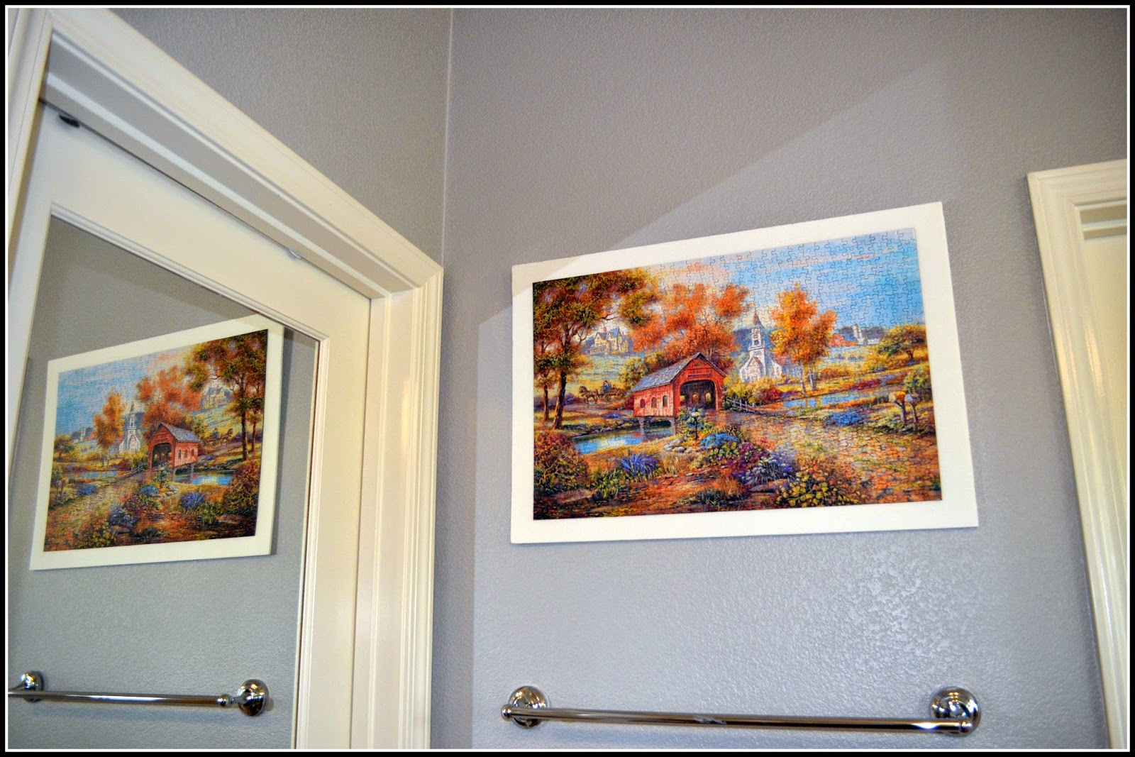 Jigsaw Puzzle as wall art