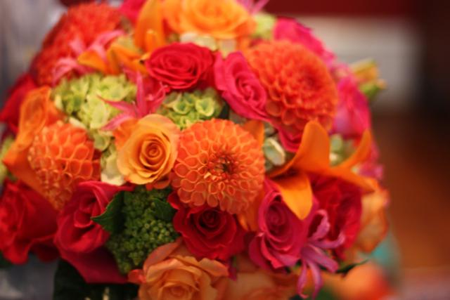 Work Of An Event Florist: Dahlias For Your Autumn Bouquets