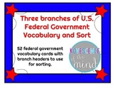 Federal government branches vocabulary