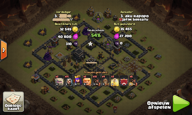 War Base TH 9 Terkuat Anti Hog Terbaru COC