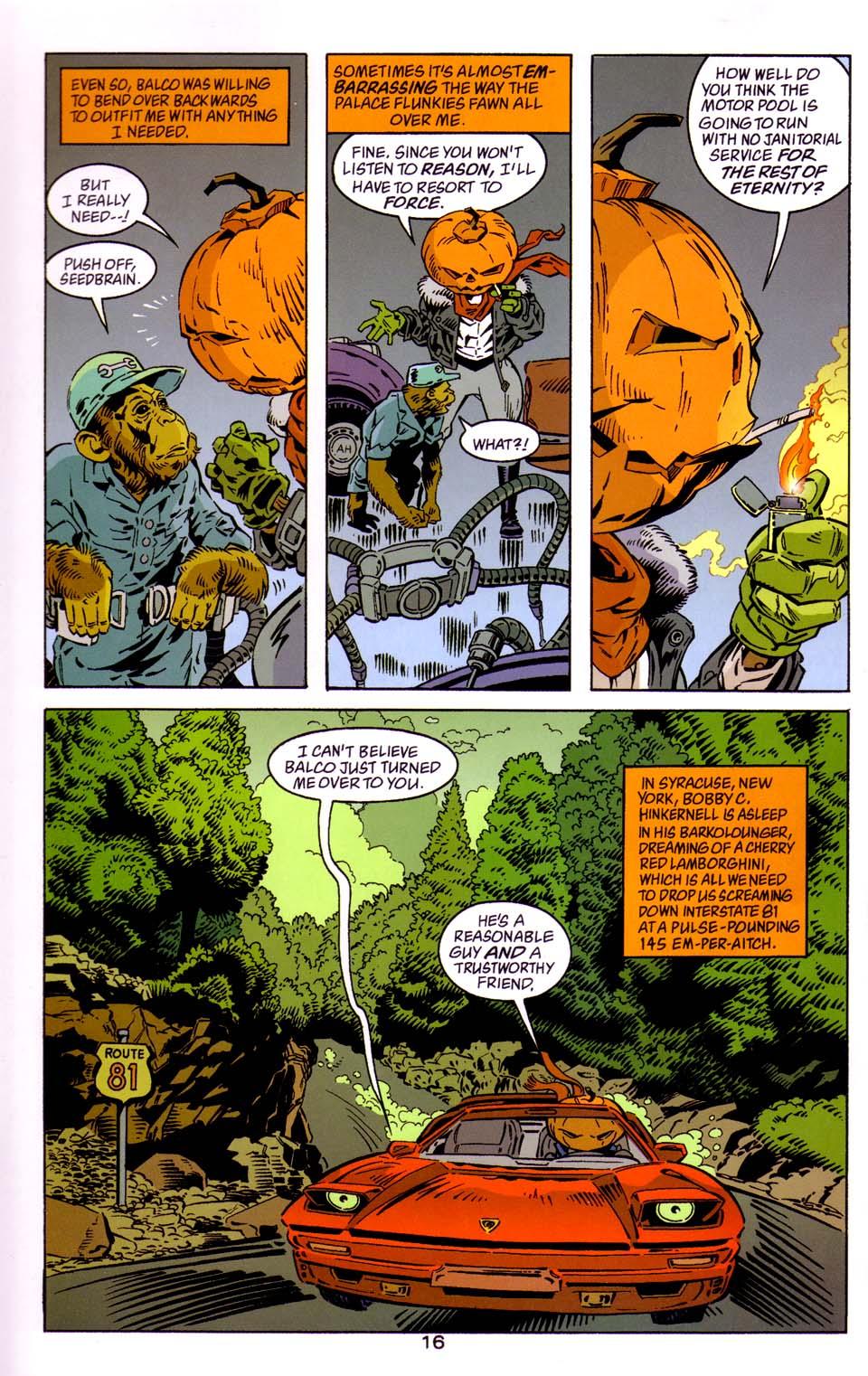 Read online Merv Pumpkinhead, Agent of D.R.E.A.M. comic -  Issue # Full - 17