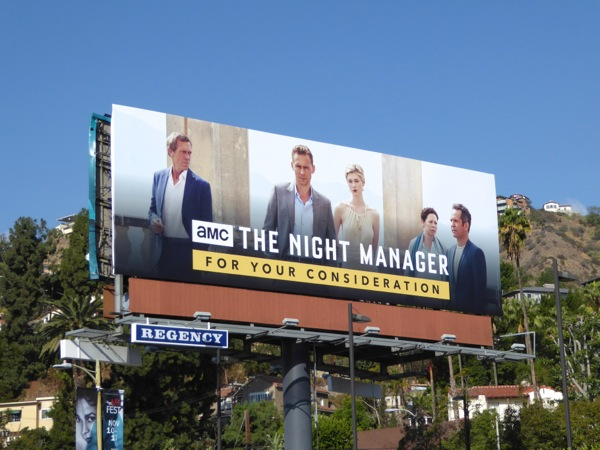 Night Manager 2016 consideration billboard