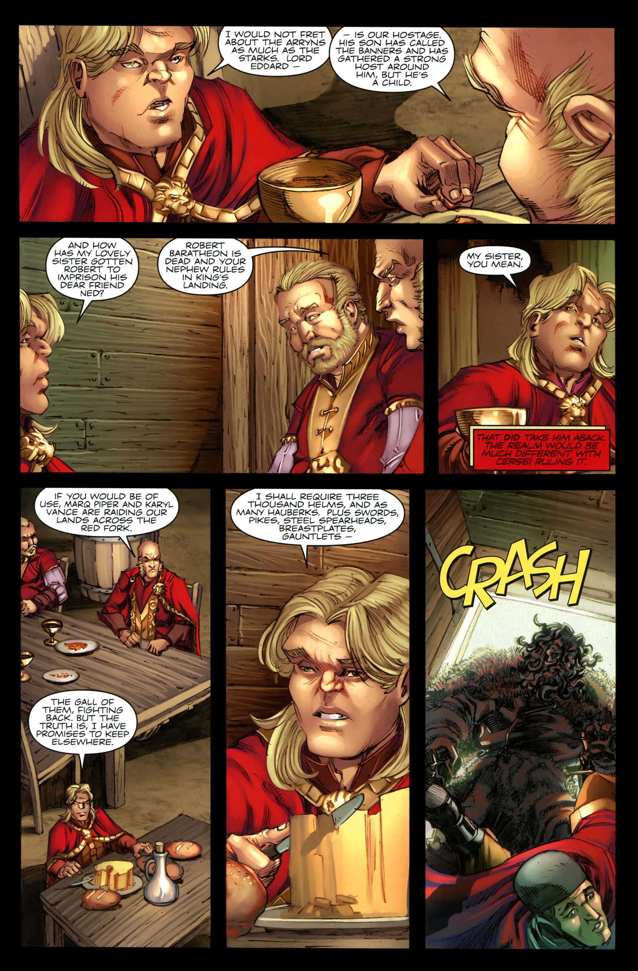 Read online A Game Of Thrones comic -  Issue #19 - 11
