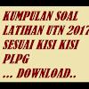 Contoh Soal UTN 2017 dan Kunci Jawaban Sesuai Kisi Kisi PLPG 2017