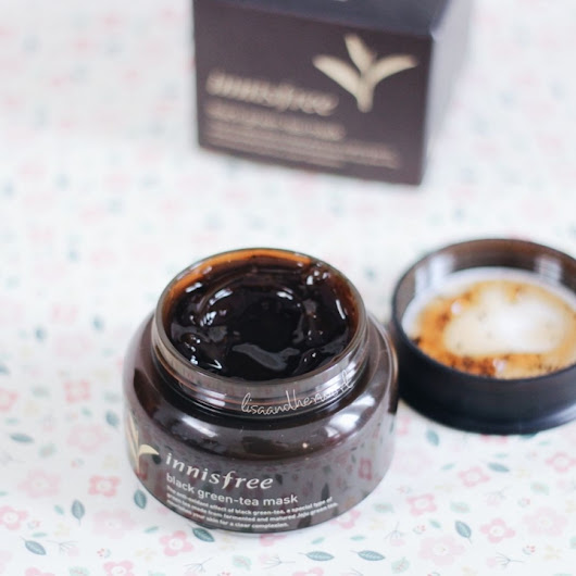 Innisfree Black Green-Tea Mask Review (Bahasa Indonesia)