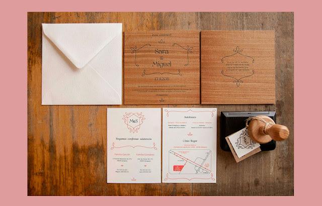 tarjetas de invitacion de bodas 2017