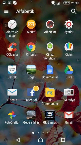 android küçük simge boyutu