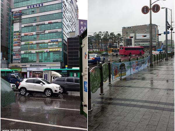 Sadepäivä Soulissa: Korean Folk Village