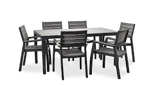 BIG OFFER Table + 6 Chairs Bundle Excellent Garden Furniture by Keter Harmony £159.99