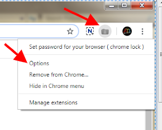 chrome browser me password kaise lagaye