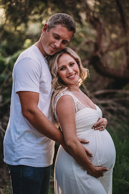 Mom and Dad Maternity Session Ideas. Kelley family maternity photo spring session in San Diego CA by Morning Owl Fine Art Photography.