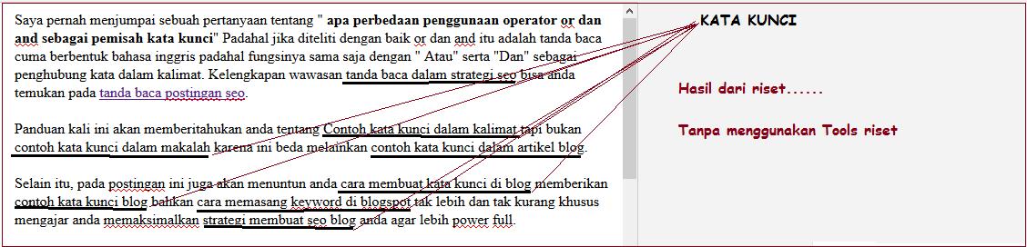 Contoh Kata Kunci Dalam Kalimat Dan Paragraf, Strategi Seo Pengoptimalan Keyword