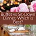 Buffet vs Sit-Down Dinner at Your Roanoke Valley Wedding