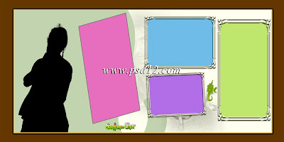 "12""x24"" Panoramic Template for Album"