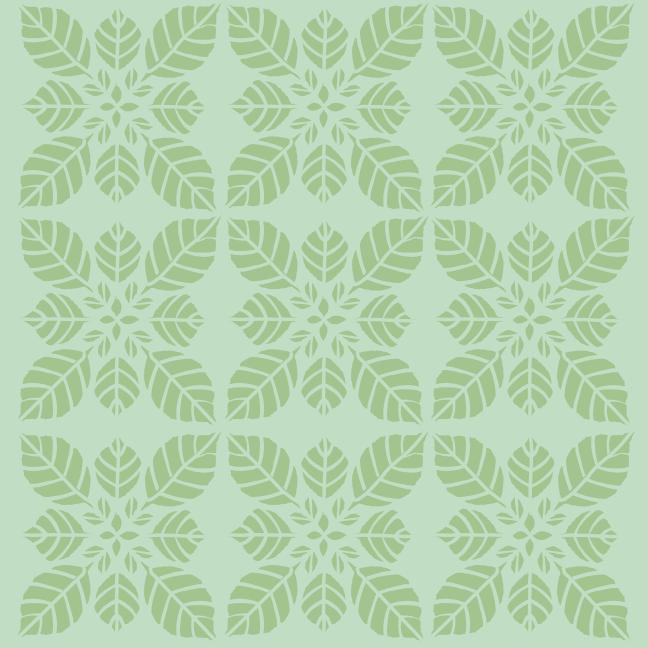 Minztee-Muster nach ©muellerinart