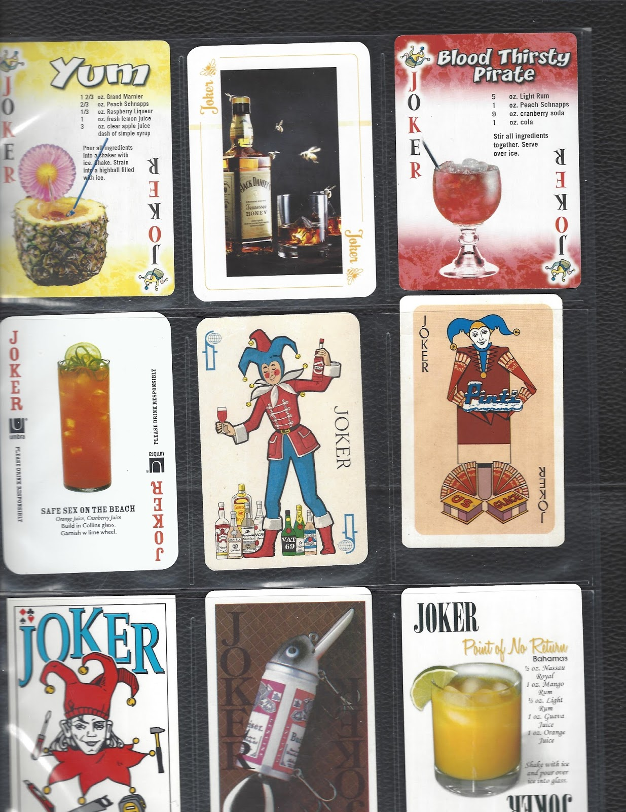 Advertising Jokers Are For Cigarettes And Liquor With A Few Desserts Thrown In At The End
