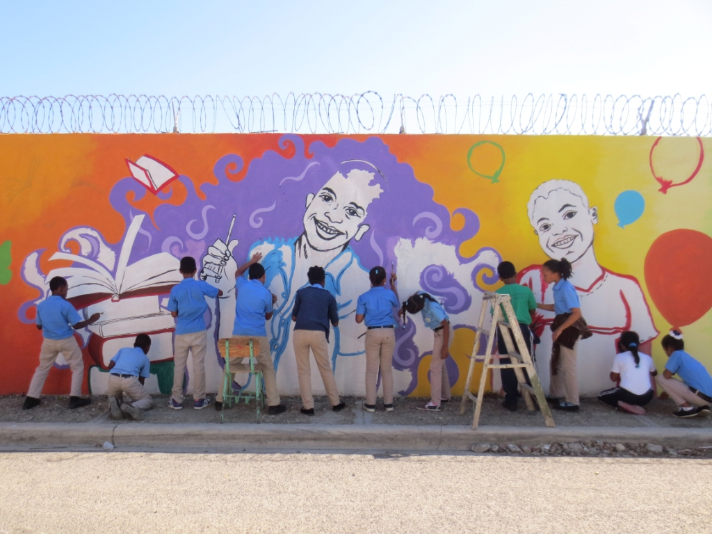 Muralarte Guate Mural Project Dominican Republic